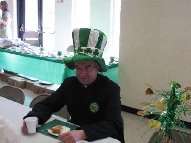 Fr. D in The Hat